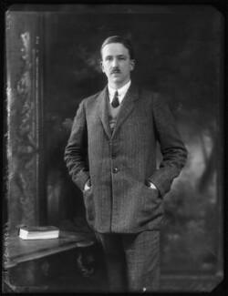 Hon. Bertram Marmaduke Osbert Savile Foljambe, by Bassano Ltd - NPG x123510