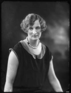 Lady Muriel Beatrice Beckwith (née Gordon-Lennox, later Lady Jones), by Bassano Ltd - NPG x123525