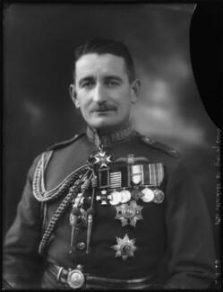 Sir (William) Geoffrey Hanson Salmond, by Bassano Ltd - NPG x123543