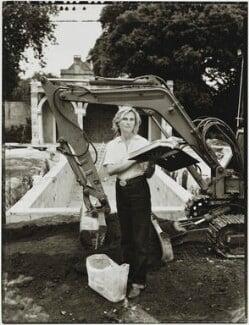 Isabel Bannerman, by Tessa Traeger - NPG P1026(2)