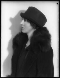 Lady Sybil Fraser (née Grimston), by Bassano Ltd - NPG x123550