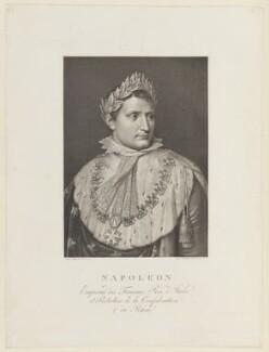 Napoléon Bonaparte, by Raphael Morghen, after  Stefano Tofanelli - NPG D15758