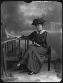 Lucinda Dorothea (née Kemble), Countess of Dunmore, by Bassano Ltd - NPG x33067