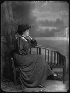 Lucinda Dorothea (née Kemble), Countess of Dunmore, by Bassano Ltd - NPG x33068