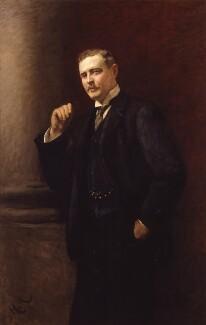 Nathaniel Charles Rothschild, by Sir Hubert von Herkomer, 1908 - NPG 6664 - © National Portrait Gallery, London