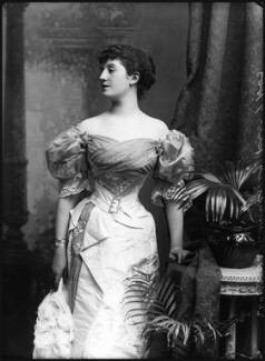 Priscilla Cecilia (née Moore), Countess Annesley, by Alexander Bassano, 1895 - NPG x8927 - © National Portrait Gallery, London