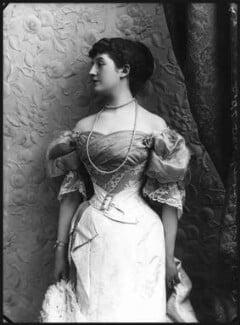 Priscilla Cecilia (née Moore), Countess Annesley, by Alexander Bassano, 1895 - NPG x8928 - © National Portrait Gallery, London