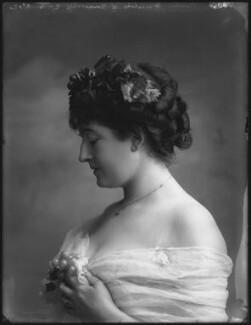 Priscilla Cecilia (née Moore), Countess Annesley, by Bassano Ltd - NPG x33014
