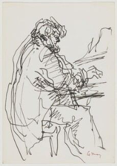 John Andrew Howard Ogdon, by Milein Cosman - NPG D18548