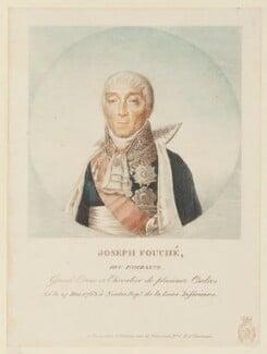 Joseph Fouché, by Unknown artist - NPG D15799