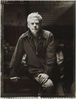 Andy Goldsworthy, by Tessa Traeger - NPG P1026(15)