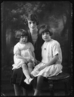 Anne Vivian Cook (née Somerset); Lesley Somerset (née Vivian); Mary Felicia Studdert (née Somerset), by Bassano Ltd - NPG x123576