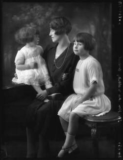 Anne Vivian Cook (née Somerset); Lesley Somerset (née Vivian); Mary Felicia Studdert (née Somerset), by Bassano Ltd - NPG x123577