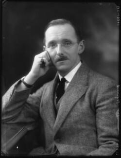 Hugh Aglionby Shore, 6th Baron Teignmouth, by Bassano Ltd - NPG x123587