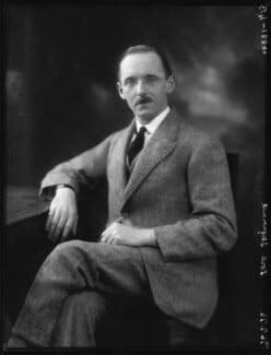 Hugh Aglionby Shore, 6th Baron Teignmouth, by Bassano Ltd - NPG x123588