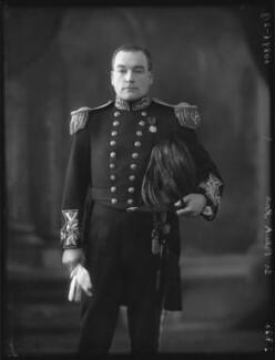 Sir Patrick Johnstone Ford, 1st Bt, by Bassano Ltd - NPG x123593