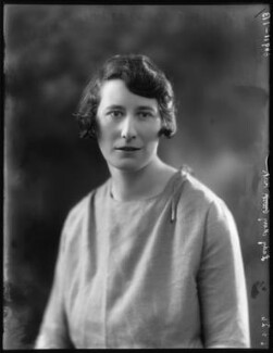 Lady Mary Elizabeth Kirk (née Plunkett), by Bassano Ltd - NPG x123603