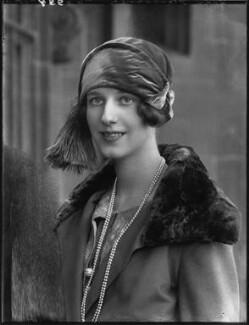 Pamela Winefred Tennant (née Paget), Lady Glenconner, by Bassano Ltd - NPG x123608