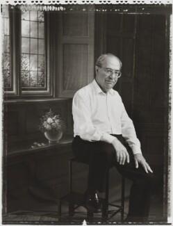 David Gerald Hessayon, by Tessa Traeger - NPG P1026(16)