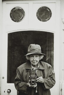 Valerie Finnis (later Lady Montagu Douglas Scott), by Tessa Traeger - NPG P1026(12)