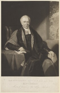 Martin Davy, by Henry Edward Dawe, published by  W. Mason - NPG D15823