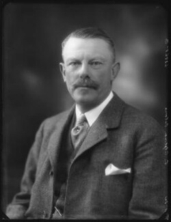 Sir Algernon Kerr Butler Osborn, 7th Bt, by Bassano Ltd - NPG x37097