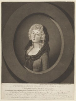 Marie Thérèse Charlotte, duchesse d'Angoulême, by Valentine Green, published by  Christian von Mechel, published 29 March 1796 - NPG D15839 - © National Portrait Gallery, London