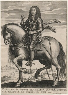 King Charles II, published by Theodorus Merlen, after  Unknown artist - NPG D18528