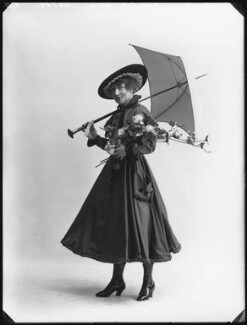 Lily Lena (Alice Mary Ann Mathilda Archer), by Bassano Ltd - NPG x33393