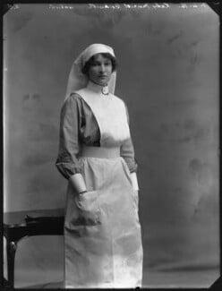 Lady Muriel Beatrice Beckwith (née Gordon-Lennox, later Lady Jones), by Bassano Ltd - NPG x30231