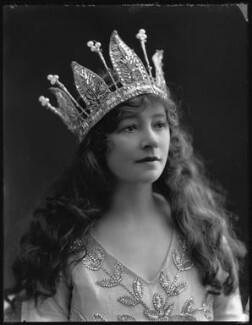 Hilda Trevelyan (Hilda Marie Antoinette Anna Tucker), by Bassano Ltd - NPG x32483