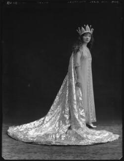 Hilda Trevelyan (Hilda Marie Antoinette Anna Tucker), by Bassano Ltd - NPG x32485