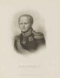 Alexander I, Tsar of Russia, published by Colnaghi & Co - NPG D15858