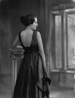 Myrta Vivienne Gamble (née Stubbs), by Bassano Ltd - NPG x33780