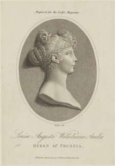 Louise Augusta Wilhelmine Amelia, Queen of Prussia, by James Heath, published by  George Robinson - NPG D15861