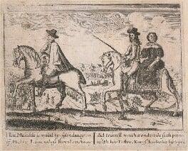 Henry Lascelles; King Charles II; Jane (née Lane), Lady Fisher, by Unknown artist - NPG D18552