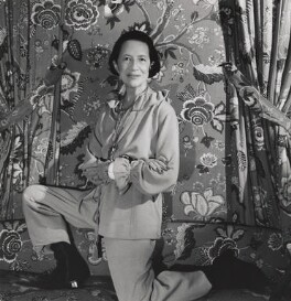 Diana Vreeland, by Cecil Beaton, February 1978 - NPG x40395 - © Cecil Beaton Studio Archive, Sotheby's London