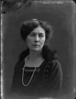 Alice Hester Camilla (née Cotton), Lady Chetwode, by Bassano Ltd - NPG x33135