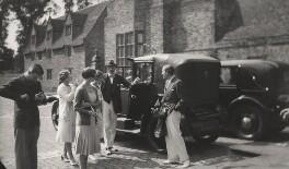 Ivor Churchill Guest, 1st Viscount Wimborne; Comtesse Phyllis de Janzé (née Boyd) and four others, by Cecil Beaton - NPG x40242