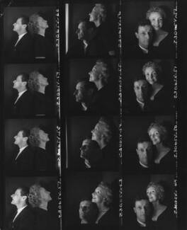 Jean-Louis Barrault; Madeleine Renaud, by Cecil Beaton - NPG x40012
