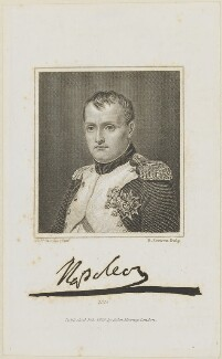 Napoléon Bonaparte, by Edward Scriven, published by  John Samuel Murray, after  Charles Auguste Guillaume Steuben - NPG D15878