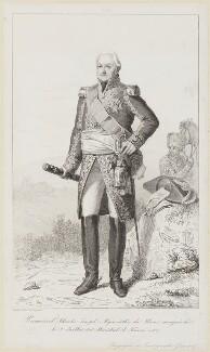 Joseph Hyacinthe Charles du Houx, marquis de Vioménil, by Pierre Louis Delaval - NPG D15881