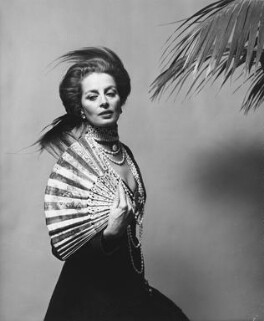 Capucine (Germaine Lefebvre) in costume for the Rothschild Ball, by Cecil Beaton - NPG x40036