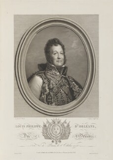 Louis-Philippe I, King of the French, by and published by Etienne Frederic Lignon, after  François Pascal Simon, Baron Gérard - NPG D15884