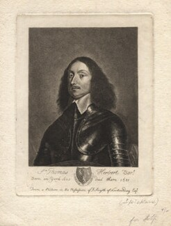 Sir Thomas Herbert, 1st Bt, by Joseph Halfpenny, after  Unknown artist - NPG D7635