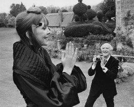 Penelope Tree; Cecil Beaton, by Unknown photographer, 1971 - NPG x40673 - © reserved; collection National Portrait Gallery, London