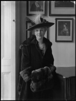 Eleanor Mary Caroline (née Arnold), Viscountess Sandhurst, by Bassano Ltd - NPG x34926