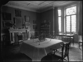 'View of Lady Illingworth's dining room', by Bassano Ltd - NPG x80978