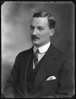 Sir Leslie Orme Wilson, by Bassano Ltd - NPG x123709