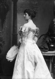 Priscilla Cecilia (née Moore), Countess Annesley, by Alexander Bassano, 1895 - NPG x8926 - © National Portrait Gallery, London